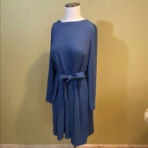 J Jill Wearever Collection Dress Twilight Blue L